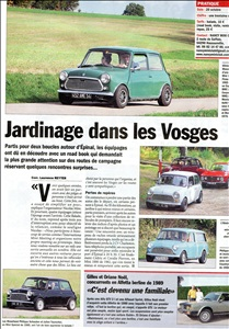Nancy Mini Club - La vie de l'auto
